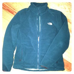 The North Face classic polartec jacket